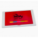 DSK-60 - 2 TONE STICKY NOTE PACK W/ RULER